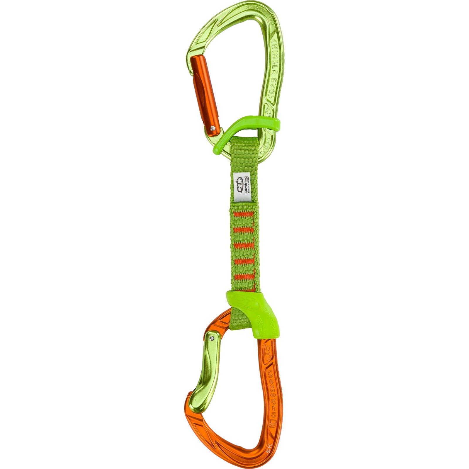 Climbing Technology Nimble Evo Fixbar Set NY 12 cm - Express-Set - Bild 1