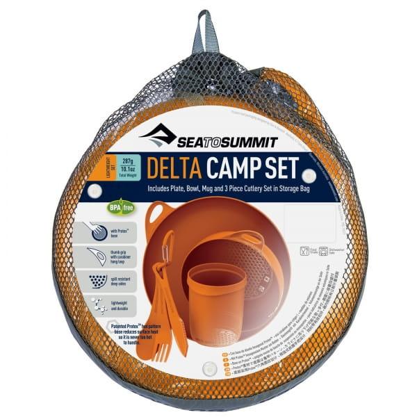 Sea to Summit Delta Camp Set - Geschirrset orange - Bild 11