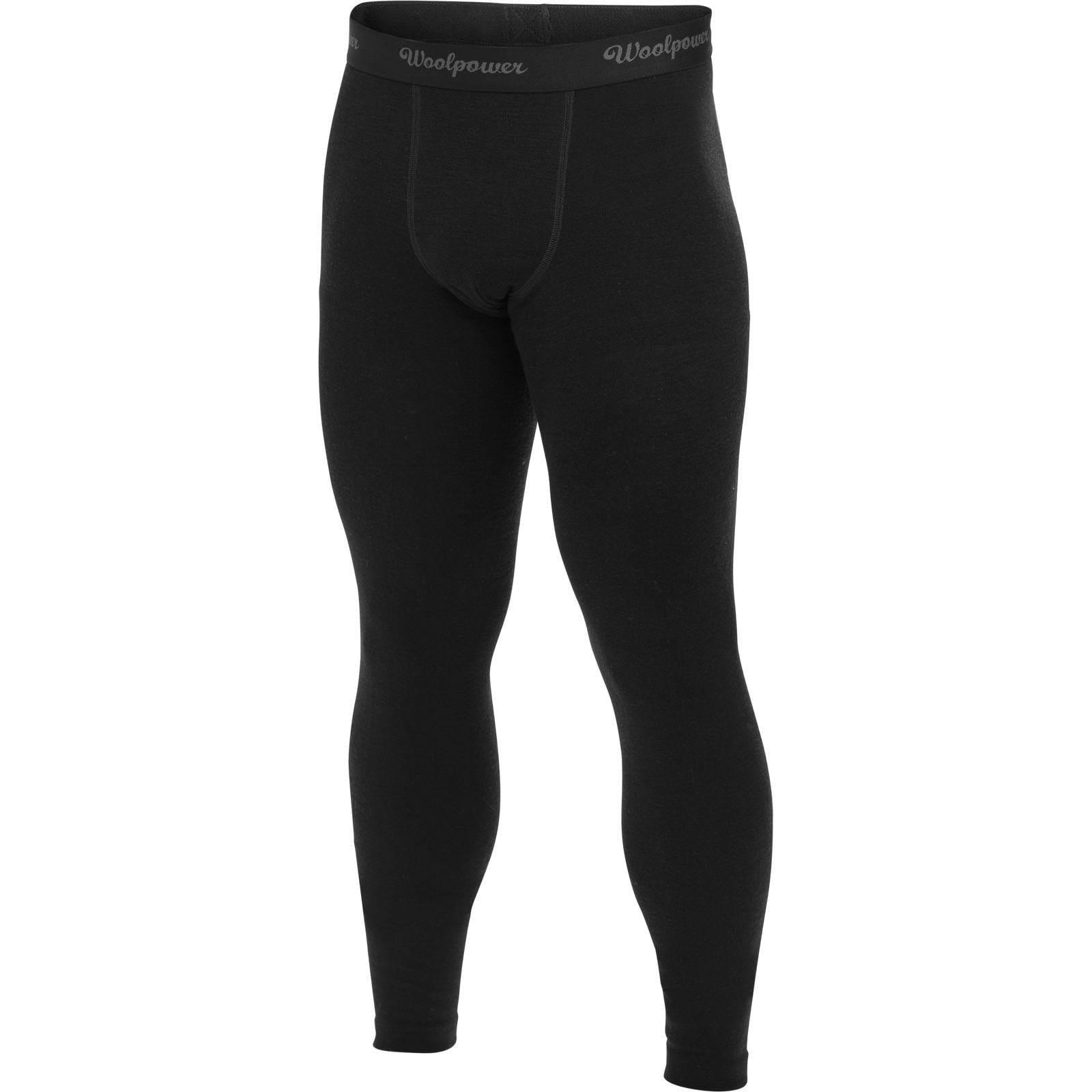 Woolpower Long Johns Men's LITE black XL