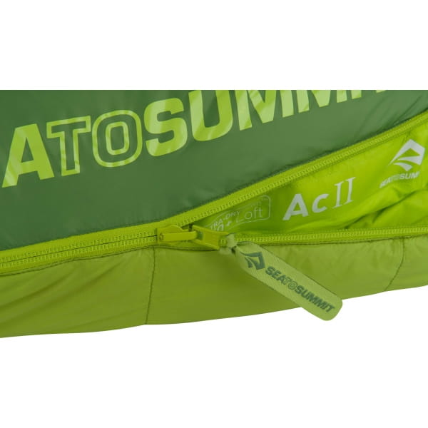 Sea to Summit Ascent AcII - Schlafsack moss-spruce - Bild 6
