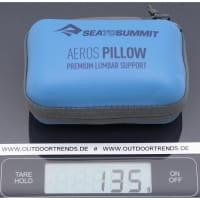 Vorschau: Sea to Summit Aeros Premium Lumbar Support Pillow - Lendenwirbelkissen navy - Bild 2