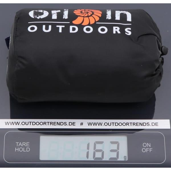 Origin Outdoors Sleeping Liner Ripstop Habotai Seide dunkelgrau - Bild 4
