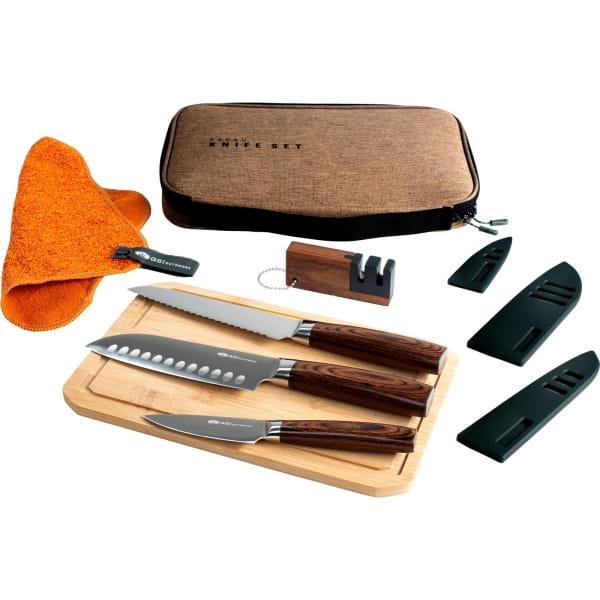 GSI Rakau Knife Set - Messer-Set - Bild 1