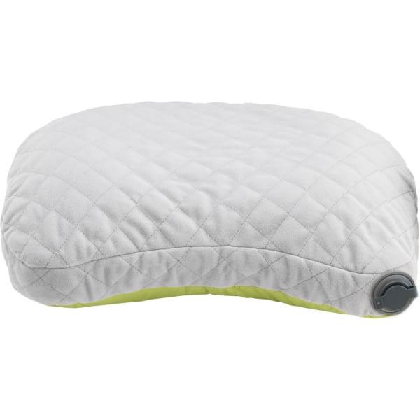 COCOON Air-Core Hood/Camp Pillow - Schlafsack-Kopfkissen wasabi-grey - Bild 4
