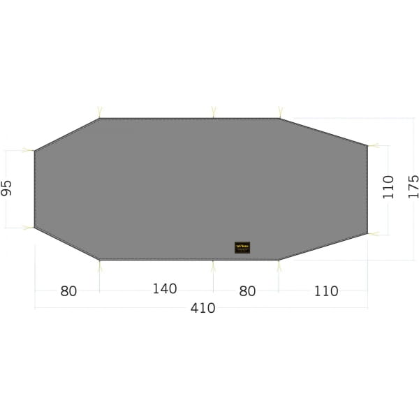 Tatonka Floor Sheet LT Polar 3 - Zeltunterlage - Bild 1