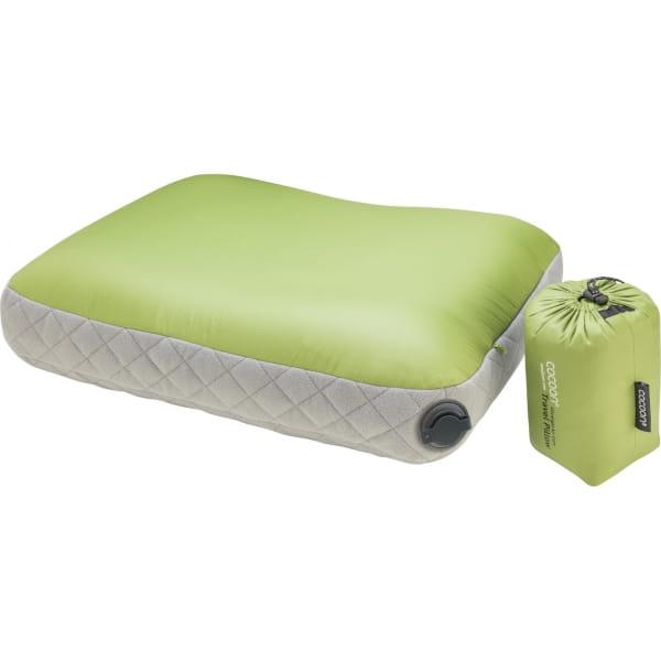 COCOON Air-Core Pillow Ultralight Medium - Reise-Kopfkissen wasabi-grey - Bild 1