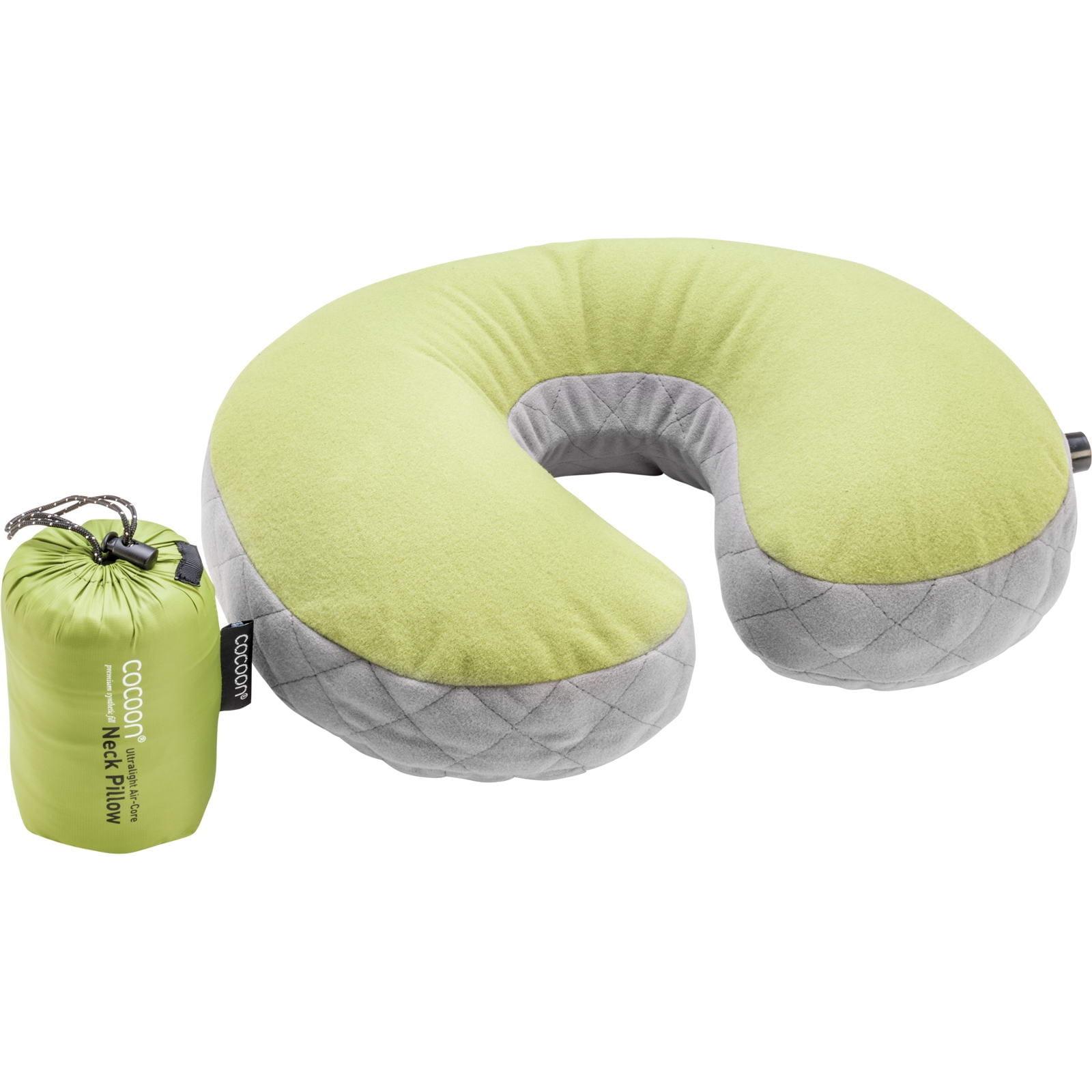 COCOON Air-Core U-Shaped Neck Pillow - Nackenkissen wasabi-grey - Bild 3