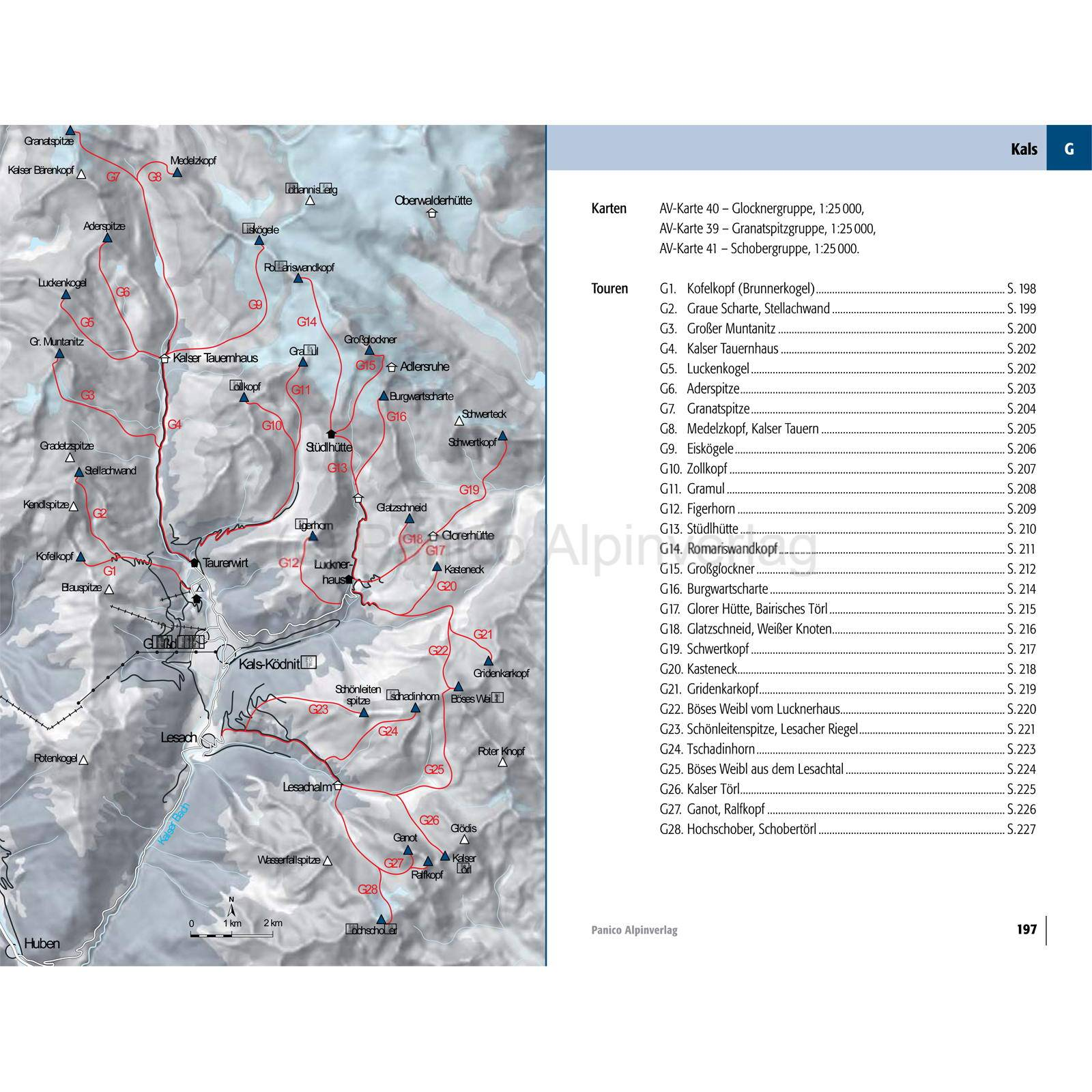Panico Verlag Hohe Tauern - Skitourenführer - Bild 6
