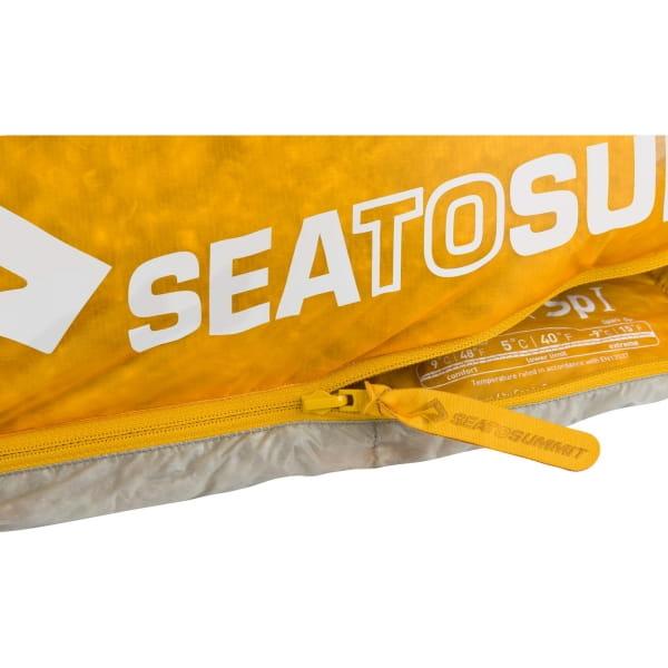 Sea to Summit Spark SpI - Schlafsack light grey-yellow - Bild 5