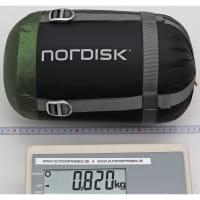 Vorschau: Nordisk Gormsson +4° Curve - Sommerschlafsack artichoke green-mustard yellow-black - Bild 11
