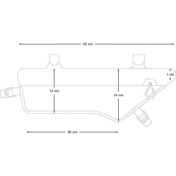 Apidura Expedition Frame Pack 3 L - Rahmentasche - Bild 3