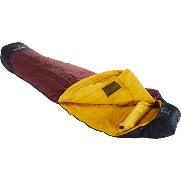 Nordisk Oscar -10° Mummy - Winterschlafsack rio red-mustard yellow-black - Bild 1