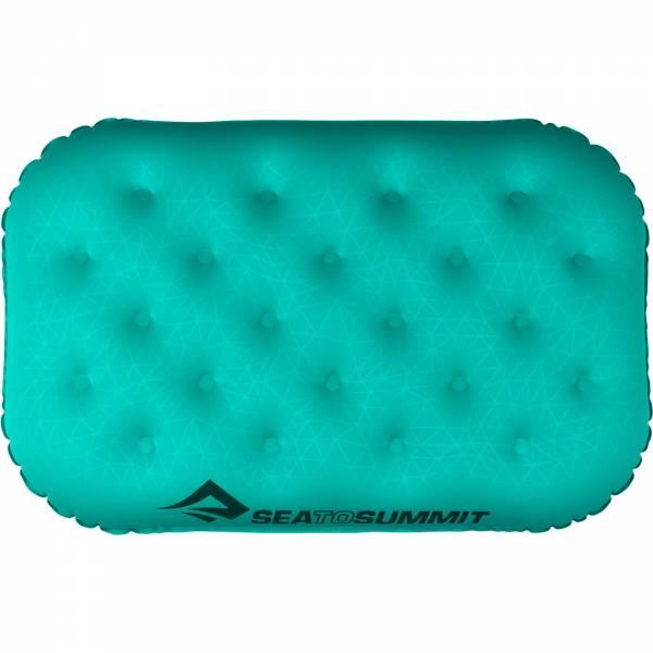 Sea to Summit Aeros Pillow Ultralight Deluxe - Kopfkissen sea foam - Bild 9
