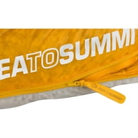 Vorschau: Sea to Summit Spark SpIII - Schlafsack light grey-yellow - Bild 8
