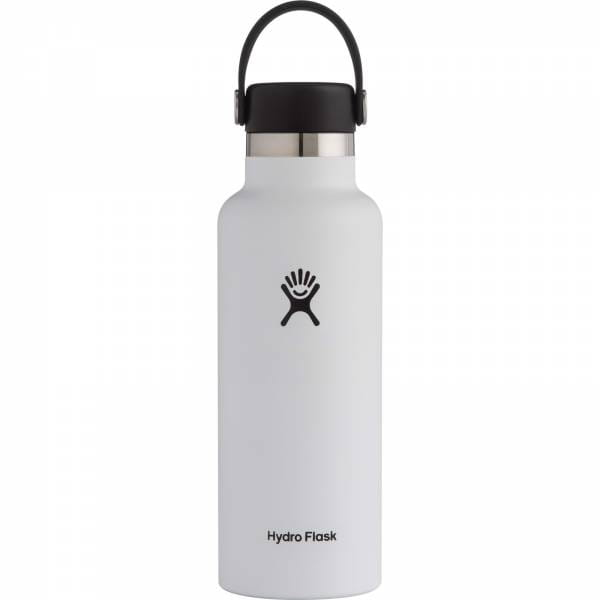 Hydro Flask 18 oz Standard Mouth - Thermoflasche white - Bild 5