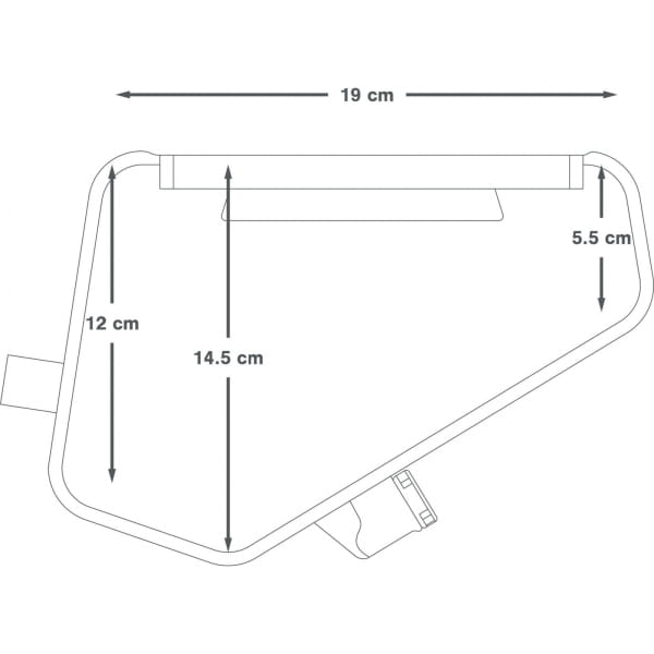 Apidura Frame Pack Hydration Bladder - Trinksystem - Bild 3