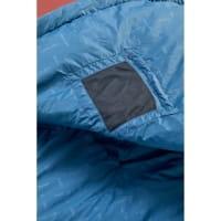 Vorschau: Nordisk Puk +10° Blanket - Sommerschlafsack sun dried tomato-majolica blue-syrah - Bild 8