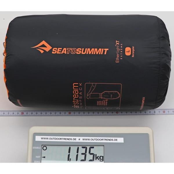 Sea to Summit EtherLite XT Extreme Rectangular - Schlafmatte black-orange - Bild 7