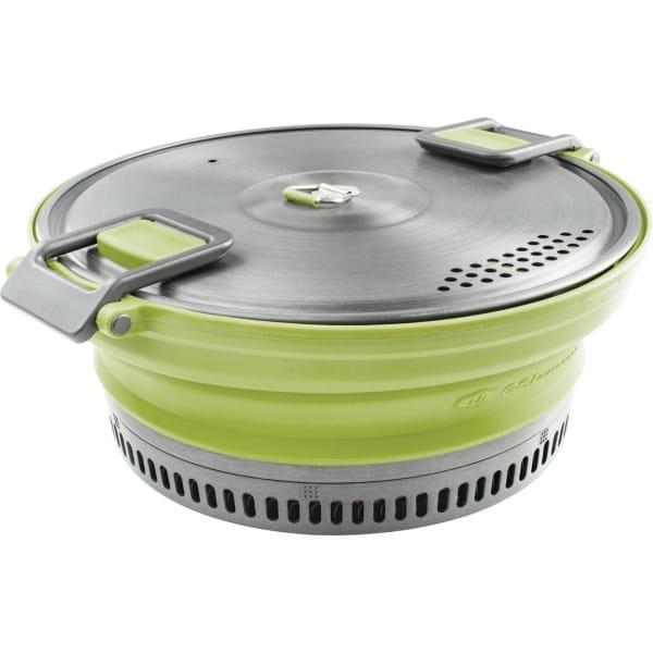 GSI Escape Set - faltbarer Kochtopf und Pfanne green - Bild 7