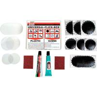 TIP TOP Universal Flickbox - Reparaturset für PU + PVC