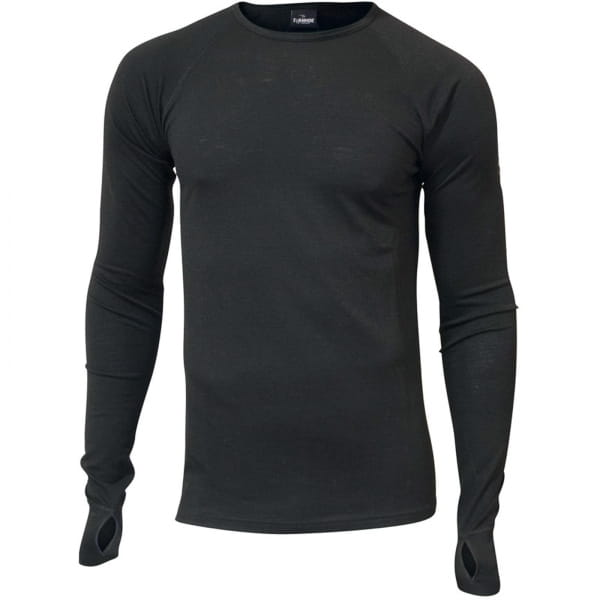 IVANHOE UW Frippe Man - Langarmshirt black - Bild 2