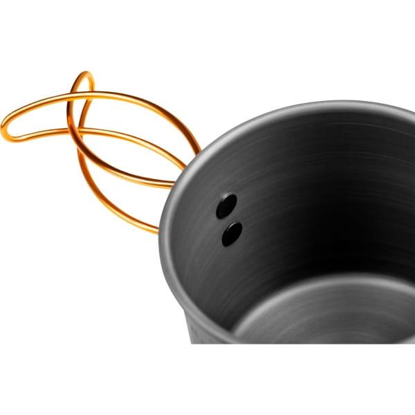 GSI Halulite 20 fl. oz Bottle Cup - Aluminium Becher grey - Bild 4