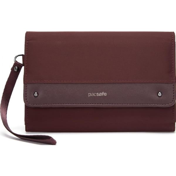 pacsafe RFIDsafe Women's Clutch Wallet - Geldbörse merlot - Bild 7