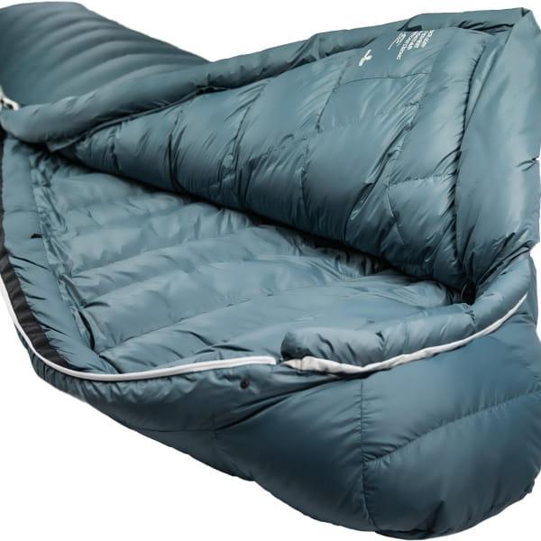 Grüezi Bag Biopod Down Hybrid Ice Cold - Daunen- & Wollschlafsack platin grey - Bild 3