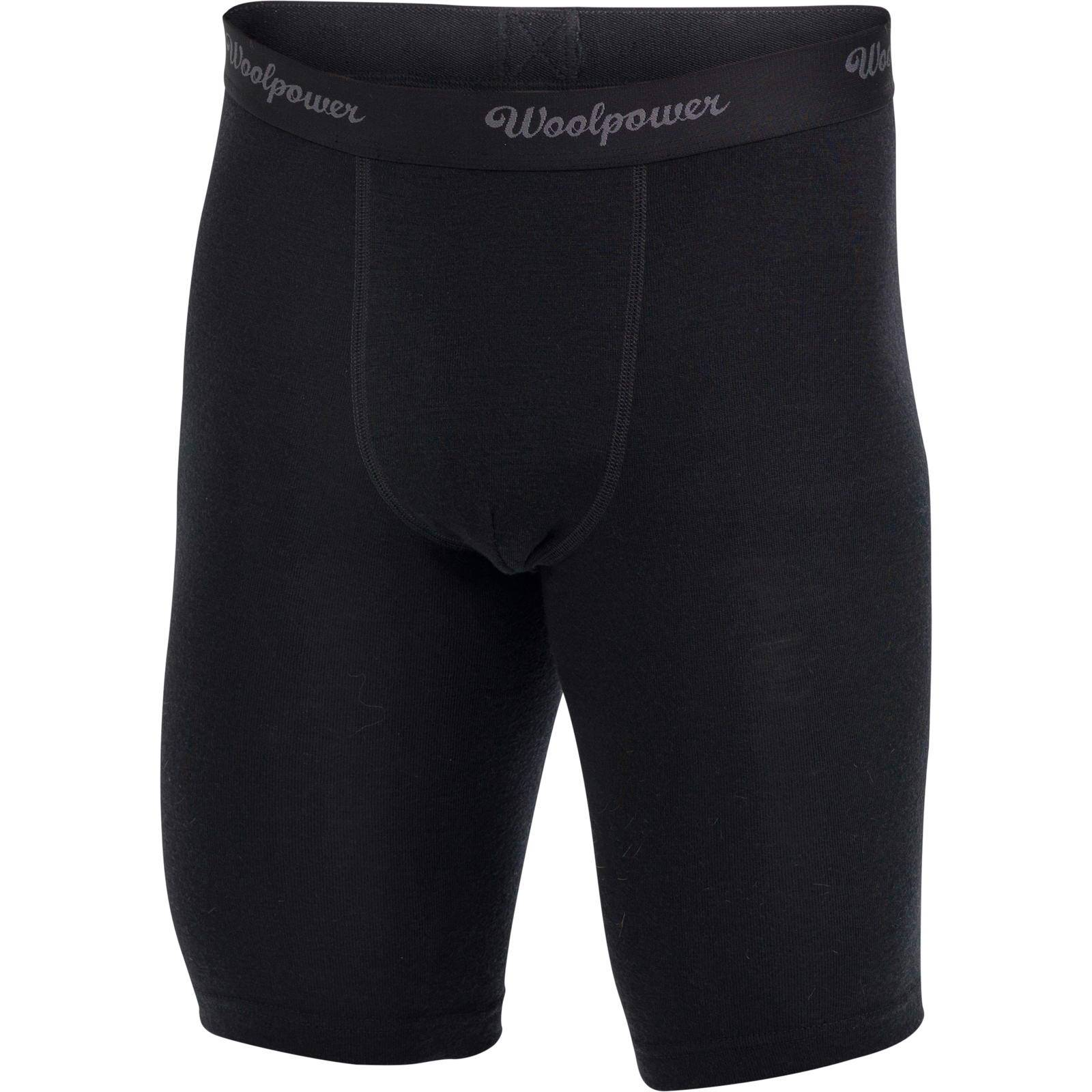 Woolpower Boxer Xlong Men's LITE black S