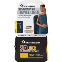 Vorschau: Sea to Summit Silk Stretch Liner Traveller - Inlet - Bild 1