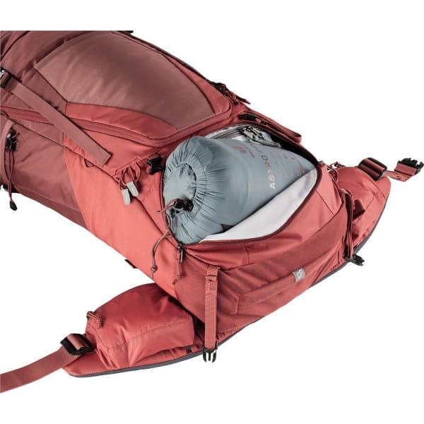 deuter Futura Air Trek 45 + 10 SL - Trekkingrucksack redwood-lava - Bild 11