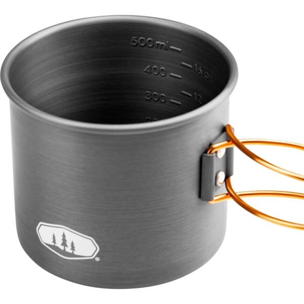 GSI Halulite 20 fl. oz Bottle Cup - Aluminium Becher grey - Bild 2