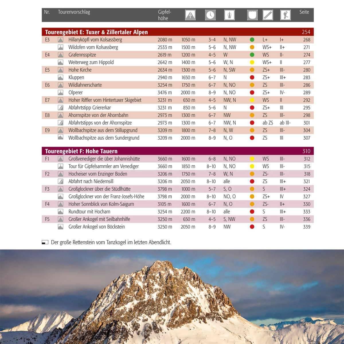 Panico Verlag Best of Skitouren - Band 1 - Bild 2