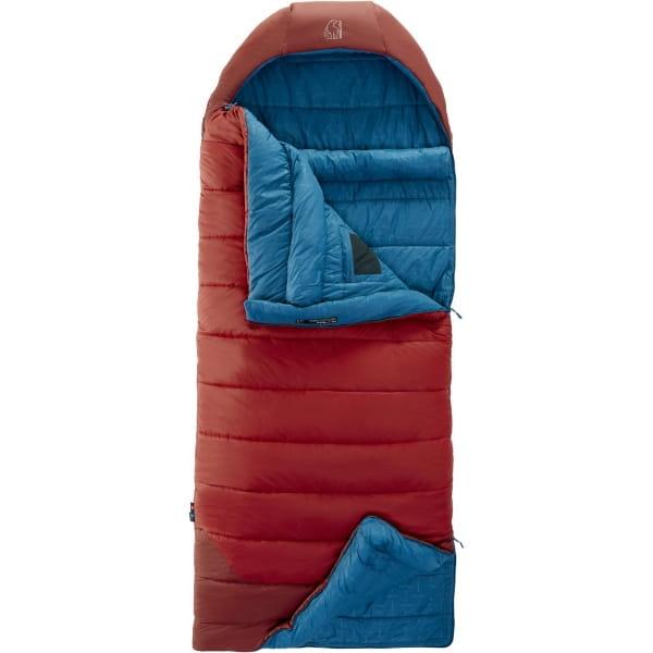 Nordisk Puk -2° Blanket - Decken-Schlafsack sun dried tomato-majolica blue-syrah - Bild 3