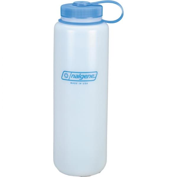 Nalgene Weithals HDPE Trinkflasche 1,5 Liter weiß - Bild 1