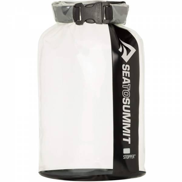 Sea to Summit Clear Stopper Dry Bag - druchsichtiger Packsack clear-black - Bild 1