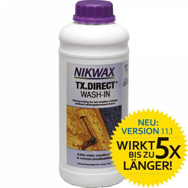 Nikwax TX Direct WashIn - 1 Liter - Bild 1