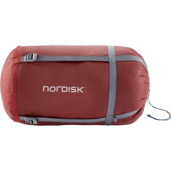 Nordisk Puk -2° Blanket - Decken-Schlafsack sun dried tomato-majolica blue-syrah - Bild 10