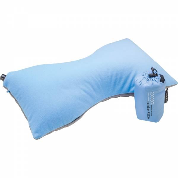 COCOON Air-Core Pillow Lumbar Support - Lendenwirbelkissen light blue-grey - Bild 1