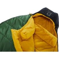Vorschau: Nordisk Gormsson -2° Egg - 3-Jahreszeiten-Schlafsack artichoke green-mustard yellow-black - Bild 5