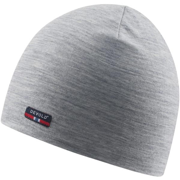 DEVOLD Breeze Cap - Merino Mütze grey melange - Bild 4