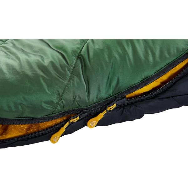 Nordisk Gormsson -2° Curve - 3-Jahreszeiten-Schlafsack artichoke green-mustard yellow-black - Bild 10
