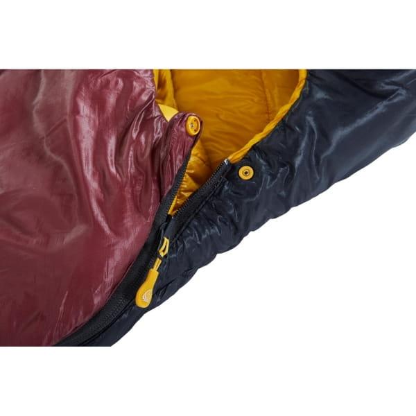 Nordisk Oscar -2° Curve - 3-Jahreszeiten-Schlafsack rio red-mustard yellow-black - Bild 8