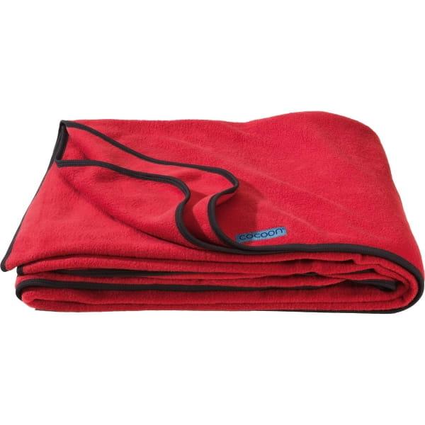 COCOON Fleece Blanket - Decke cherry - Bild 4