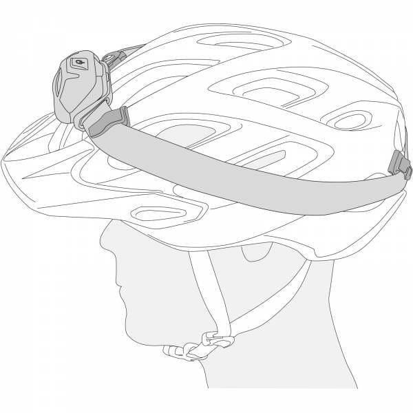Petzl Uni Adapt - Stirnlampenclips - Bild 3