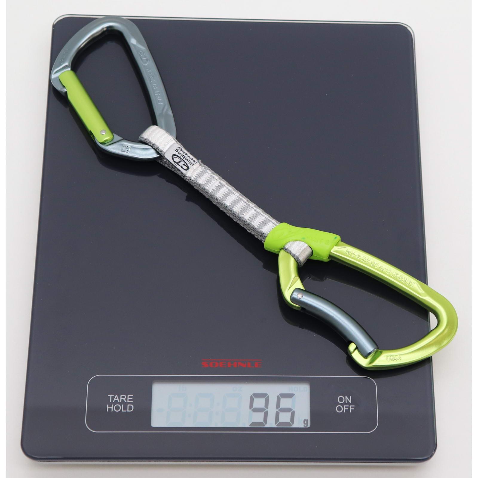 Climbing Technology Lime Set DY 12 cm Eloxiert - Express-Set - Bild 2