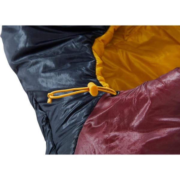 Nordisk Oscar -2° Curve - 3-Jahreszeiten-Schlafsack rio red-mustard yellow-black - Bild 10