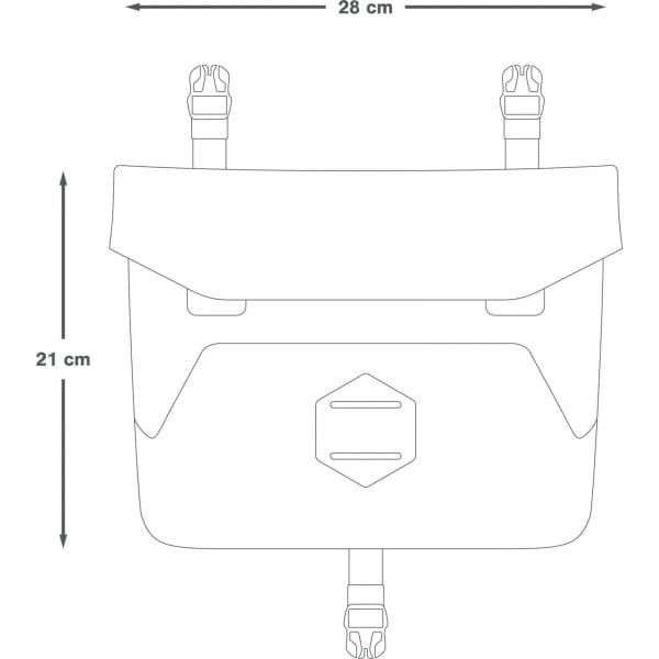 Apidura Backcountry Accessory Pocket 4 L - Zusatztasche - Bild 3