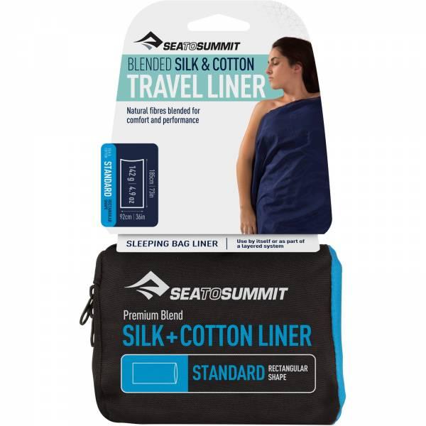 Sea to Summit Silk Cotton Travel Liner Standard - Bild 1