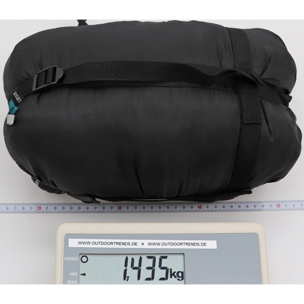 Grüezi Bag Biopod Wolle Goas Comfort - Deckenschlafsack dark petrol - Bild 9